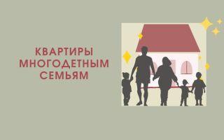 Как получить квартиру многодетной семье от государства в 2021 году?
