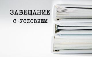 Как составить завещание с условием? | Советы юриста