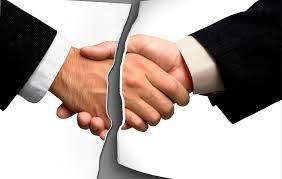 Пример расторжения договора в одностороннем порядке